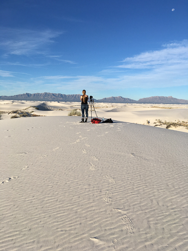 White Sands, New Mexico, road trip