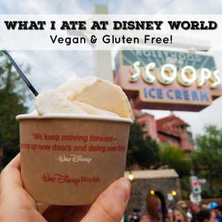 What I Ate at Disney World 2017 (Vegan & Gluten Free)
