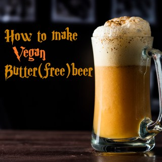 How to Make Vegan Butter(free)beer