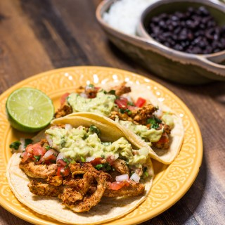 Easy Baked Soy Curl Tacos (Vegan, Gluten & Oil Free)