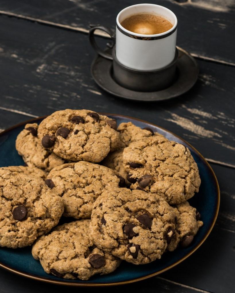 Chocolate Chip Cookies (Vegan & Gluten Free)