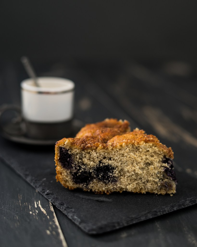 Blueberry Coffee Cake (Vegan & Gluten Free)