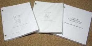 photo of scripts