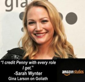 Sarah Wynter pic for Pilot audition class