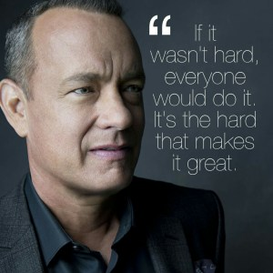 tom Hanks on Acxting