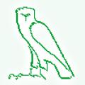 メンフクロウ消しゴムハンコ捺印