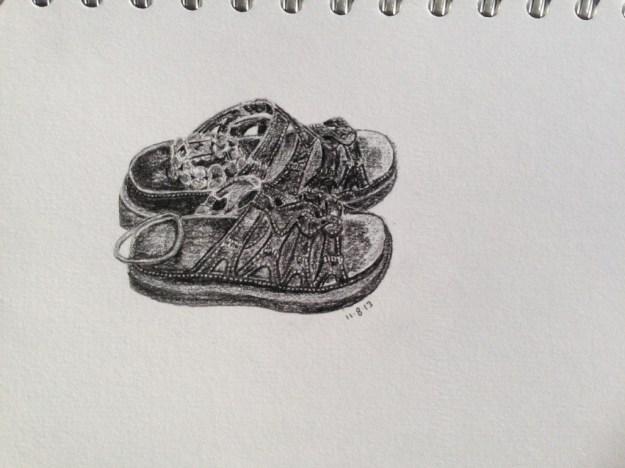 Julia's shoes