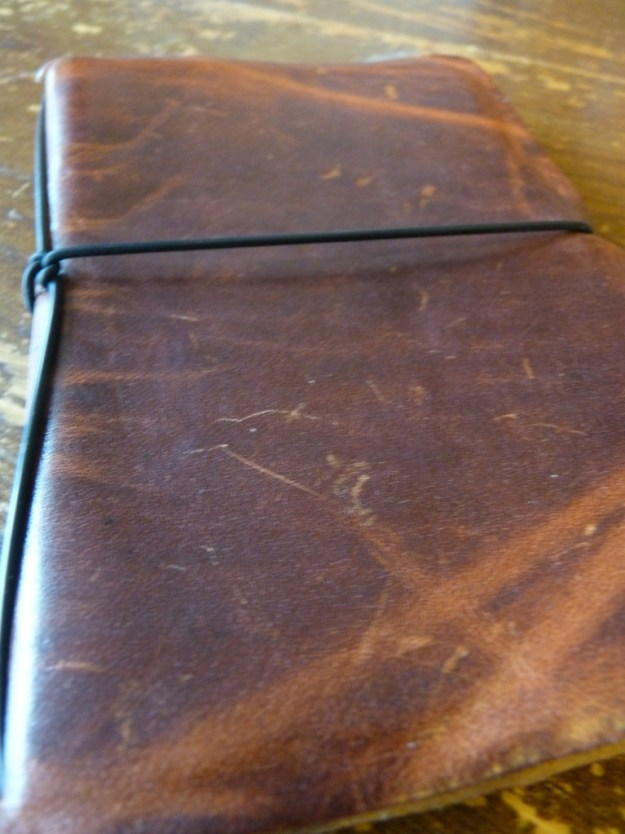 Davis Leatherworks worn cover