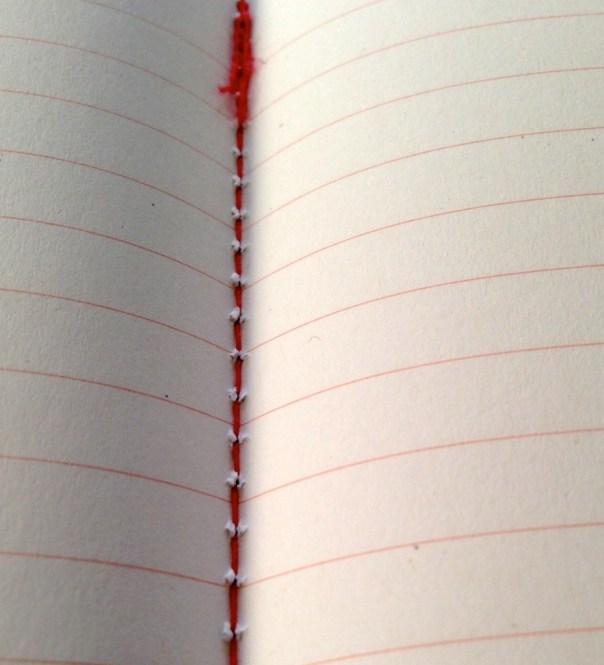 Calepino notebook binding