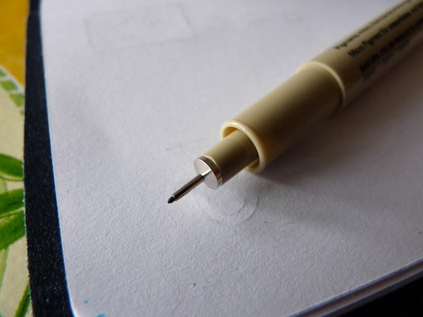 Sakura Pigma Micron pen tip
