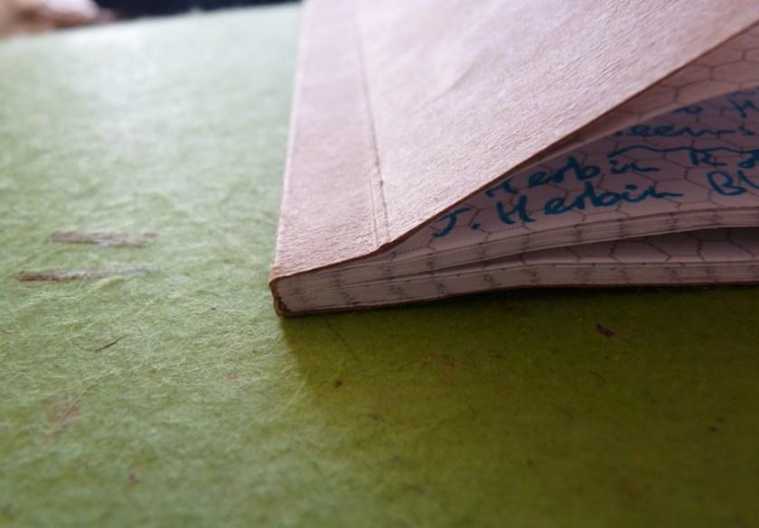 SlimNote notebook binding