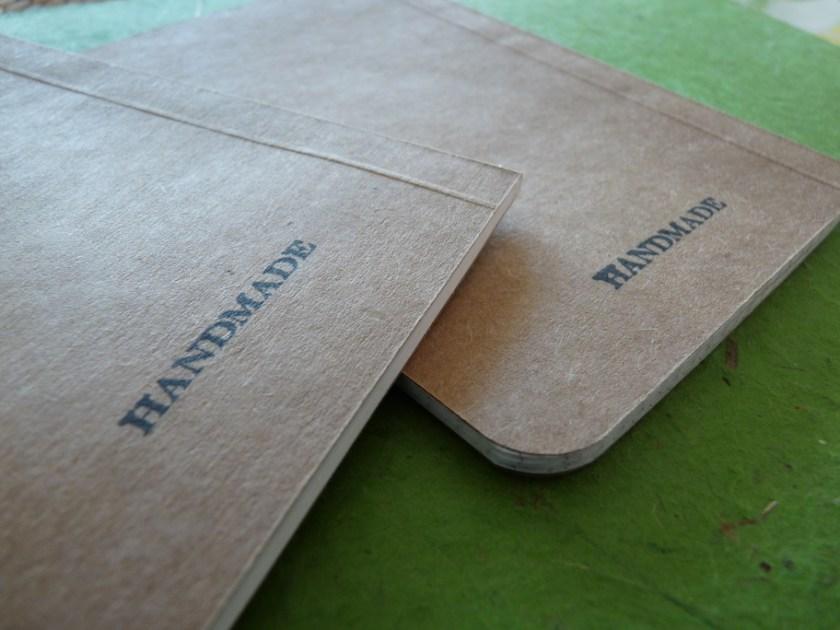 SlimNote notebook handmade