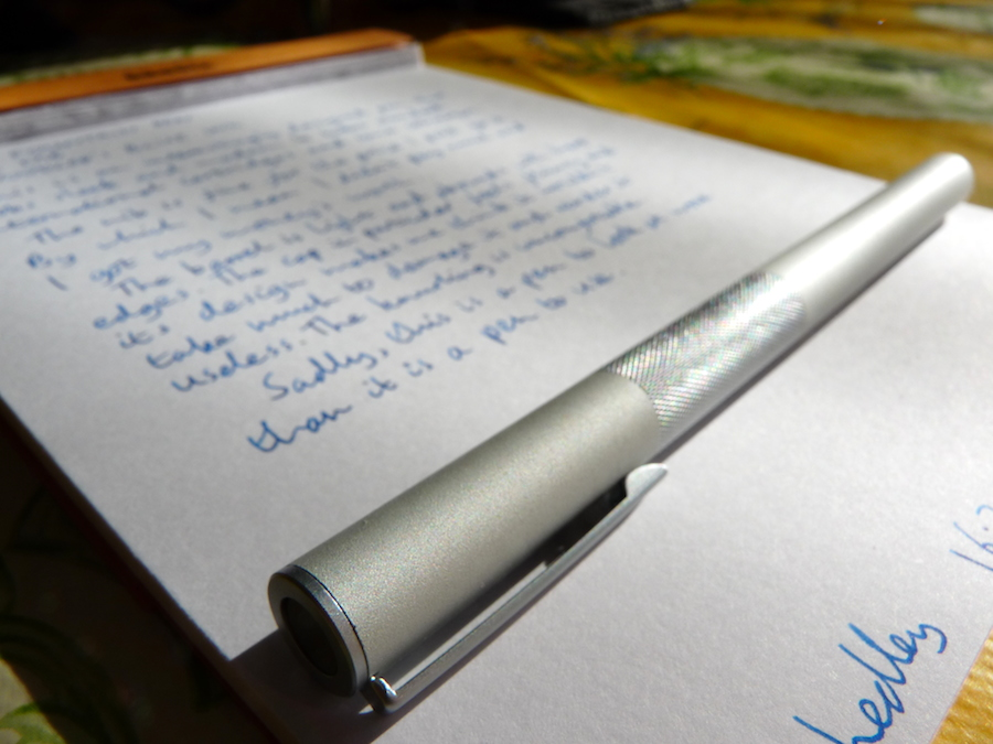 MUJI Fountain Pen review