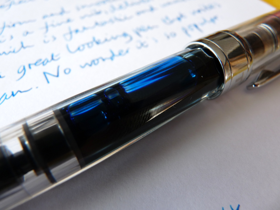 TWSBI Diamond 580 fountain pen ink reservoir
