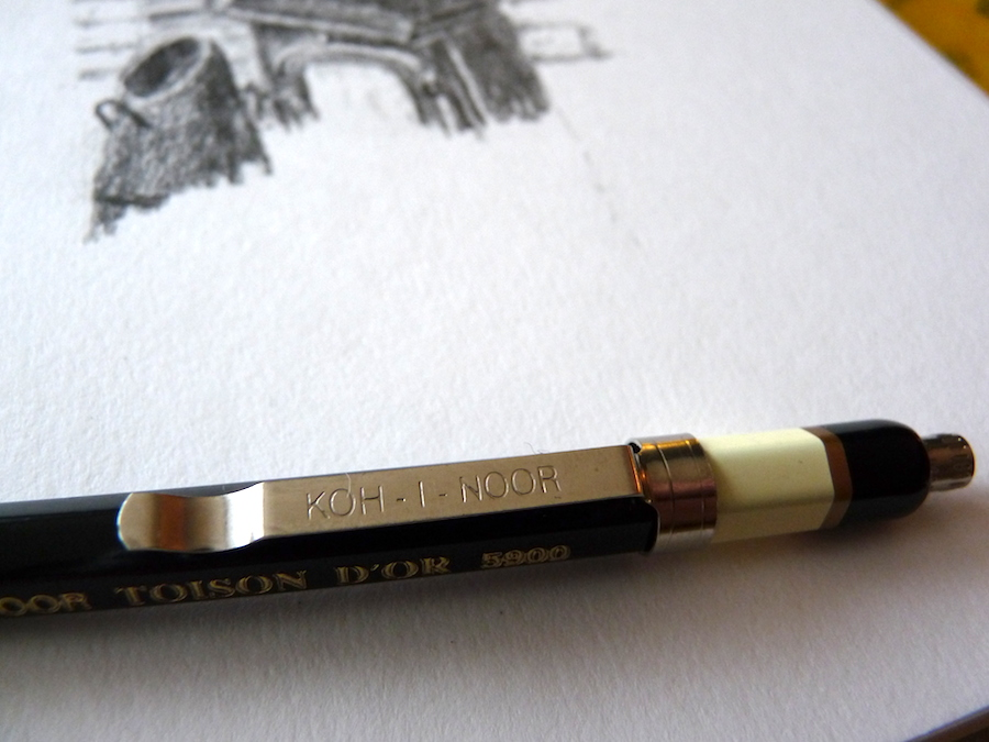 Koh-I-Noor Toison D'Or Clutch Pencil 2mm 5900