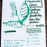 Monteverde Green ink review