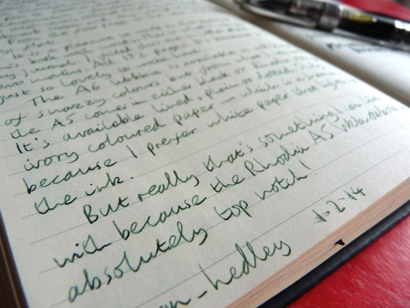 Rhodia Webnotebook (A5, lined) notebook review