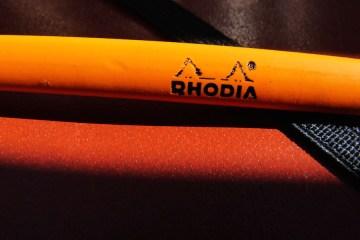 Rhodia pencil logo
