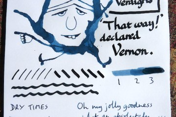Rohrer and Klingner Verdigris ink review inkling
