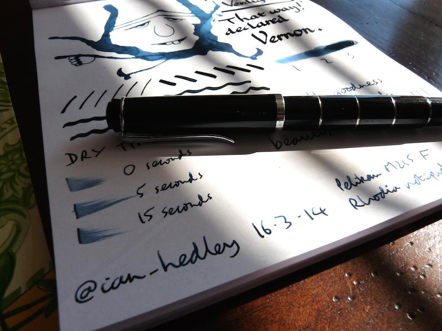 Rohrer and Klingner Verdigris ink review