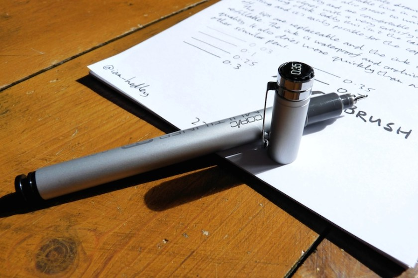 Copic Multiliner SP drawing pen review