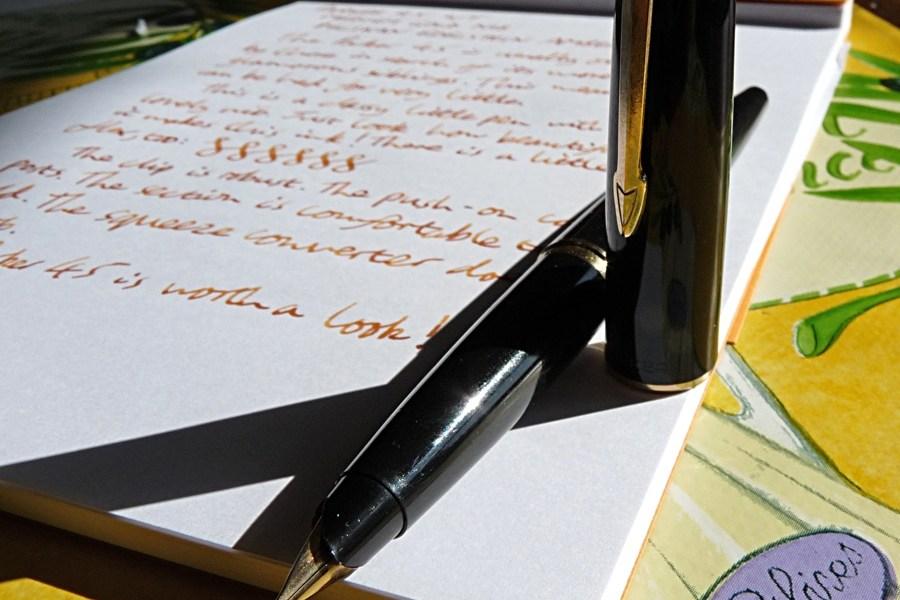 Parker 45 fountain pen review