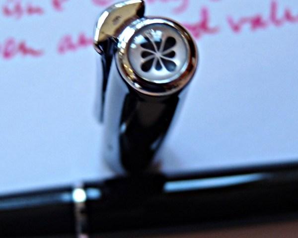 Diplomat Traveller fountain pen cap end bit