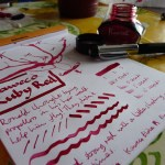 Kaweco Ruby Red ink review