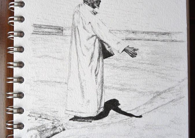 Marrakech Hitchhiker sketch