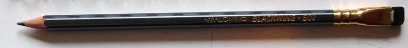 Palomino Blackwing 602 pencil full length