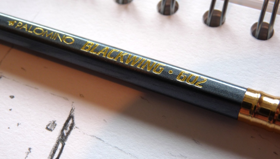 Palomino Blackwing 602 pencil logo