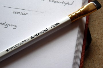 Palomino Blackwing Pearl pencil branding