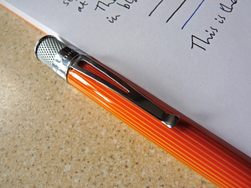 Retro 51 Tornado rollerball pen clip