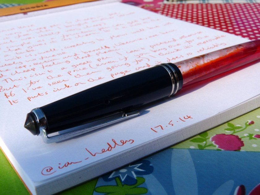 Serwex 101 F fountain pen review