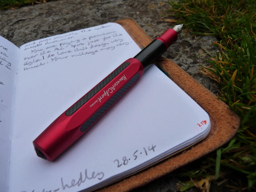 Kaweco AC-Sport fountain pen posted