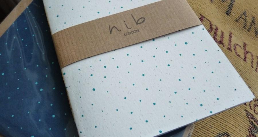 Nib London notebook packaging