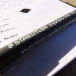 Staedtler 308 Pigment Liner drawing pen review