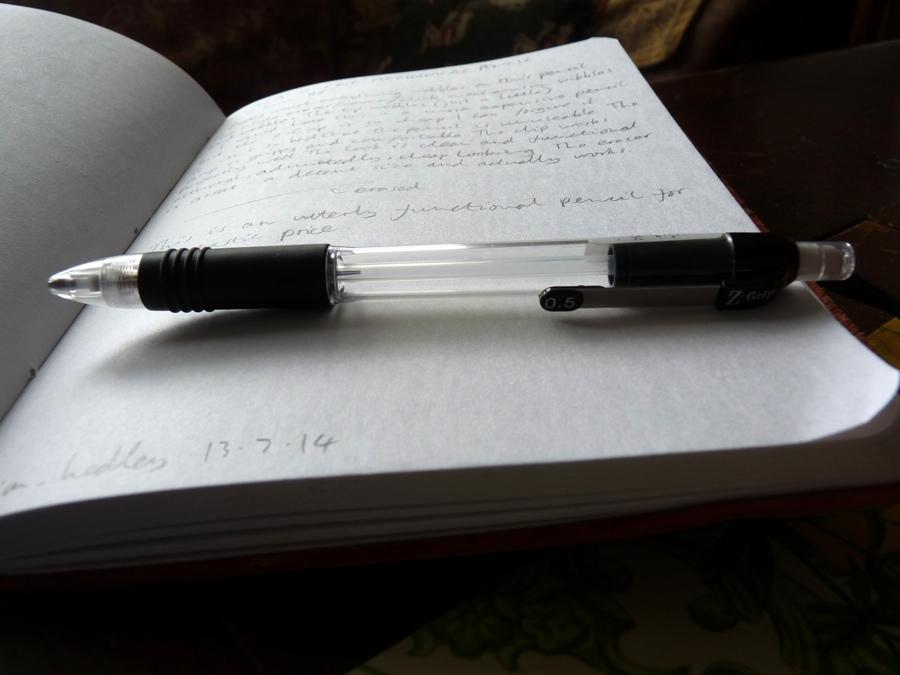 Zebra Z-Grip mechanical pencil barrel
