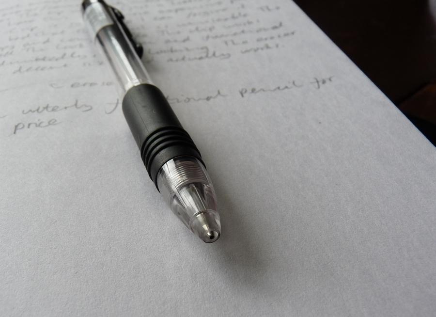 Zebra Z-Grip mechanical pencil review