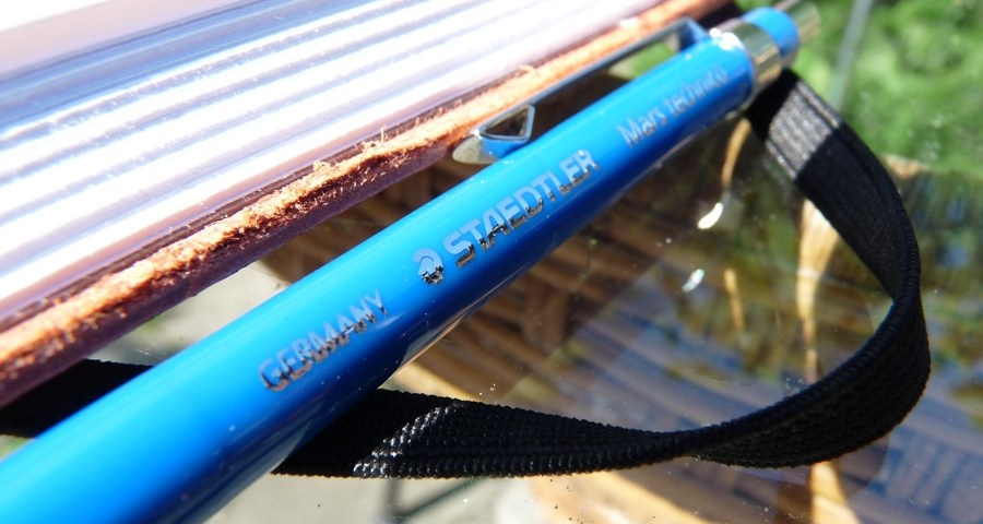 Staedtler Mars Technico clutch pencil branding