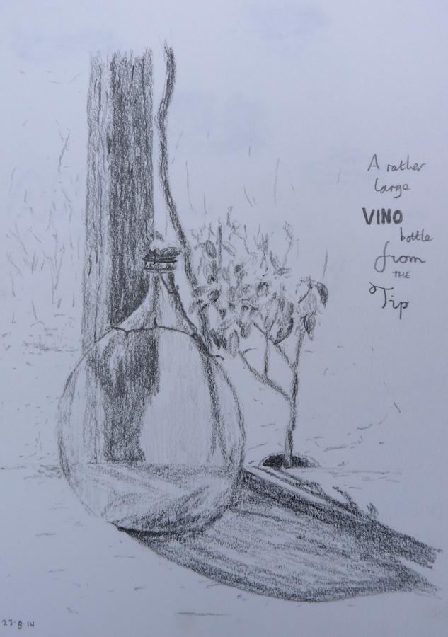 Big bottle of vino