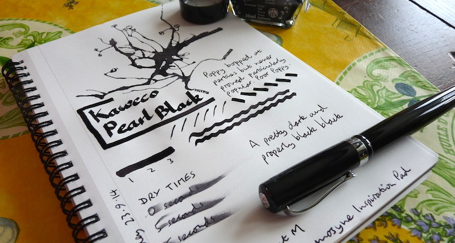 Kaweco Pearl Black ink review