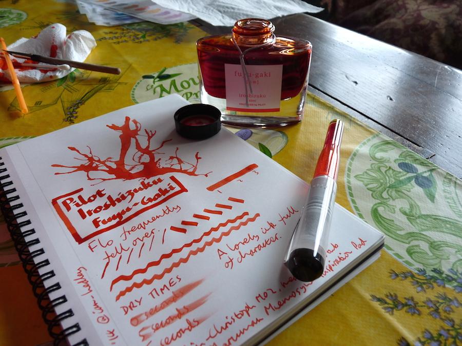 Pilot Iroshizuku Fuyu-Gaki ink review
