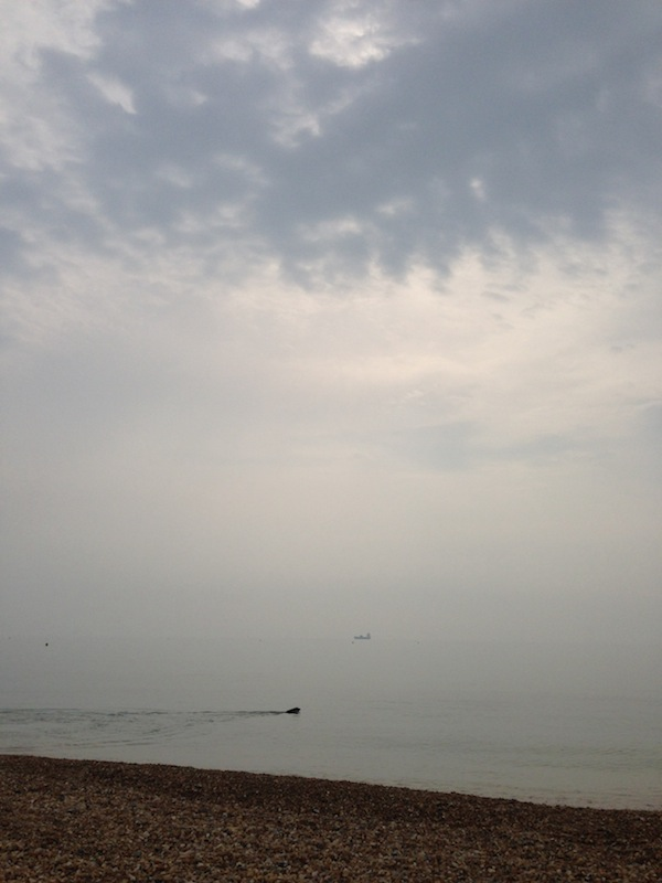 Weymouth in the mist