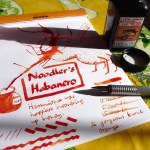 Noodler's Habanero ink review