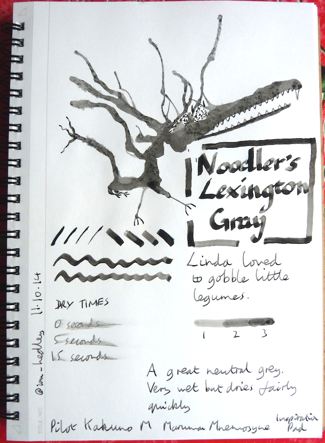 Noodlers Lexington Gray Inkling