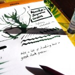 Noodler's Sequoia Green ink review