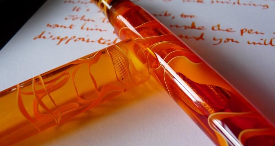 Twiss Marmalade fountain pen review