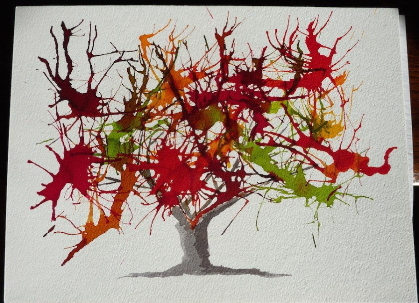 Autumn tree small