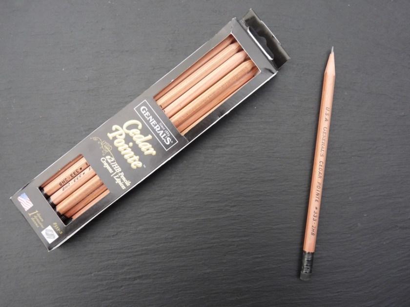 Generals Cedar Pointe pencil with box
